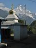 Stupa, Lukla 2800m-Monjo 2900m