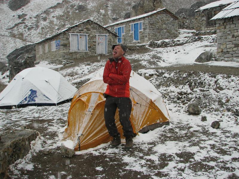 The fool:-)), Camp Kare 4950m