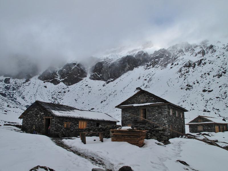 Camp Cliola Kharka 4150m