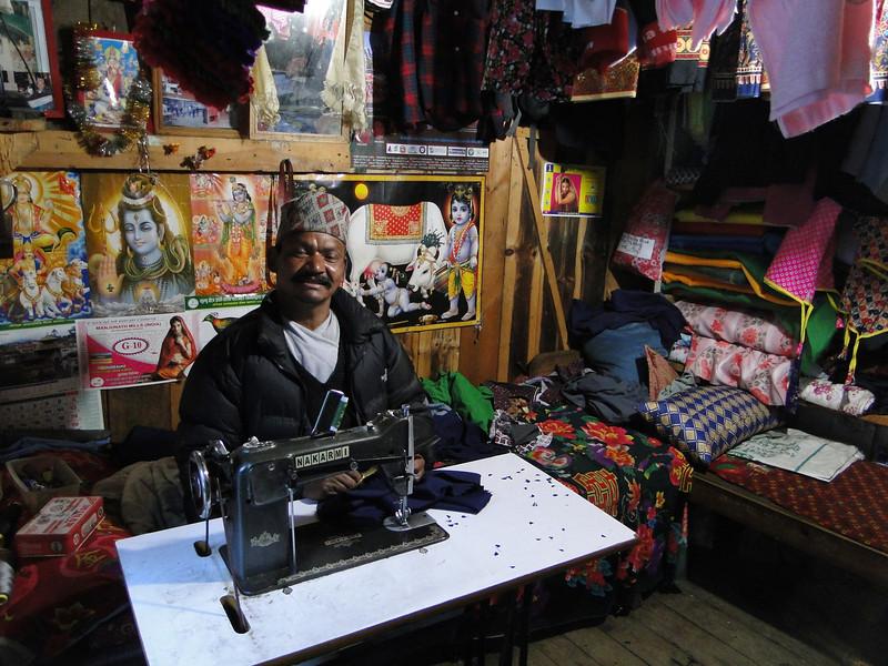Tailor, Namche Bazar 3450m