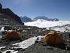 Mera Peak base camp (Mera La) 5350m