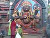 Bhairav, Durbar Square, Kathmandu 1300m
