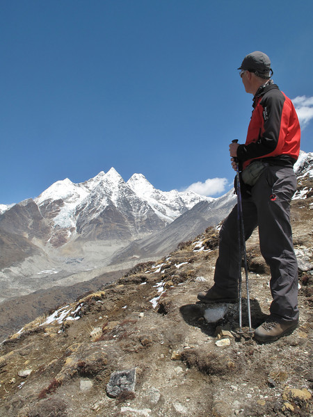 Above Camp Kare 4950m