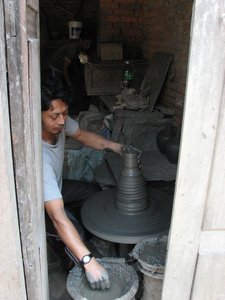 Pottery-making, Pottery Square, Baktapur