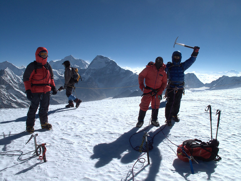 Mera Peak, summit 6476m