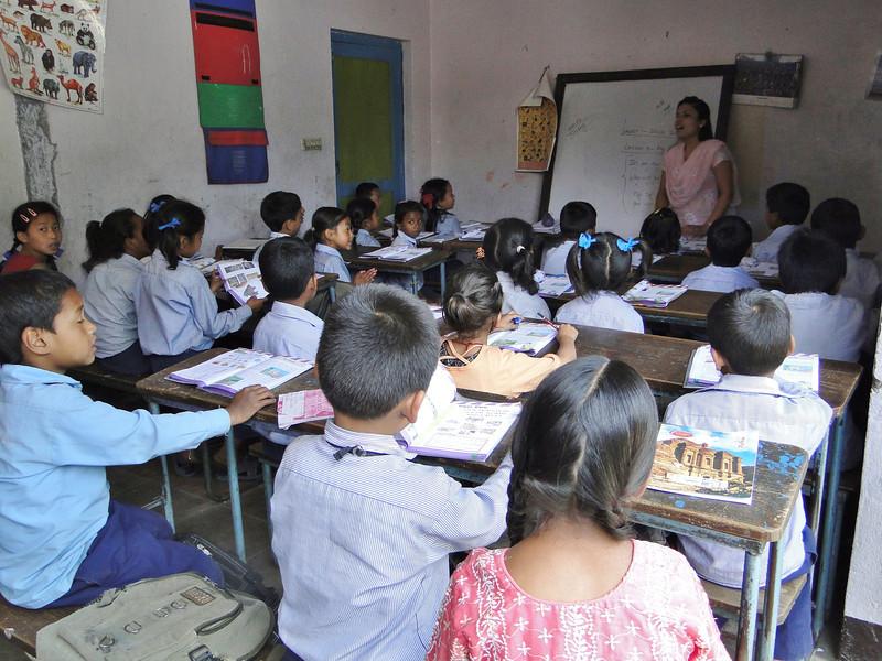 Primairy School, Kathmandu