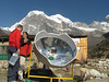 Cooking water with solar energy, CampTangnag 4300m