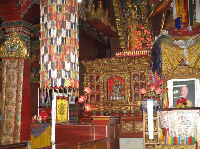 Monastery near the Stupa Bodhnath, Kathmandu