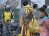 Sadhu, holy men, Durbar Square, Kathmandu 1300m