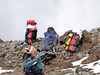 Porters with load ~50 kg weight , Chalem Kharka 3450m-Cliola Kharka 4150m