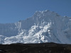 View from the route Chhukung 4780m-Island peak Base Camp 5000m