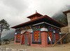 New built Monastery, Lukla 2800m