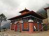 New built Monastery, Lukla 2800m