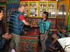 Thanks and giving tips, Expedition Farewell Party, Lukla 2800m