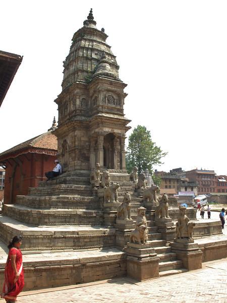 Siddhi Laxmi Temple, stone, Shikhara style, Durbar Square, Baktapur