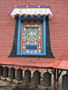 Decorated window of the Monastery of Deboche 3630m
