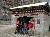 Entrance gate, Monjo 2900m-Namche Bazaar-Tengboche-Deboche 3630m