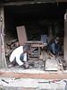 Workshop chaos, Thamel, Kathmandu 1300m