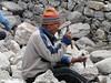 Construction works, Lukla 2800m