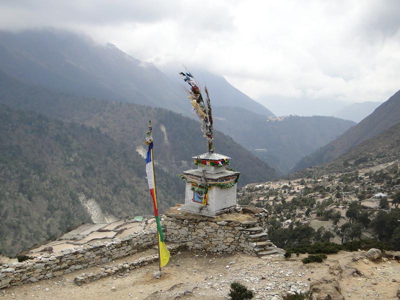 Stupa near Tengboche