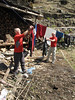 Washing and drying, resting day, Camp Kothe 3700m