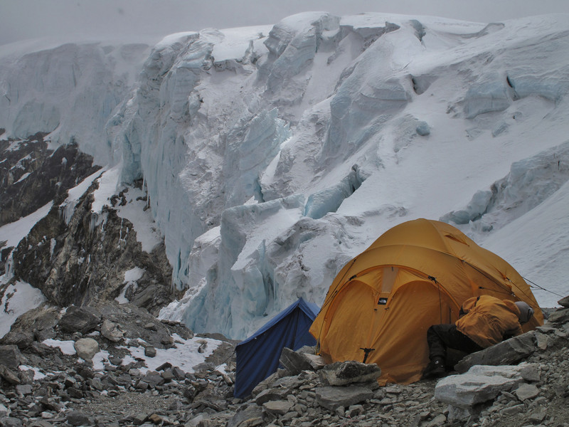 Mera Peak advanced camp 5800m