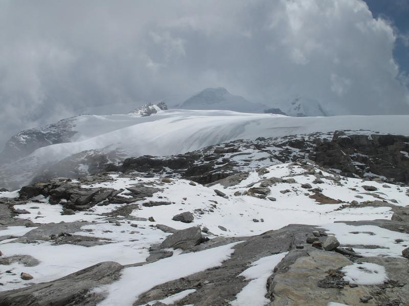 Khare 4950-Mera Peak base camp (Mera La) 5350m