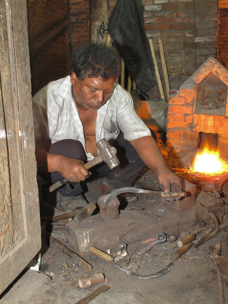 Black smith, Baktapur Palace Area