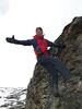 Climbing practice with lifting gear, Mera Peak base camp (Mera La) 5350m