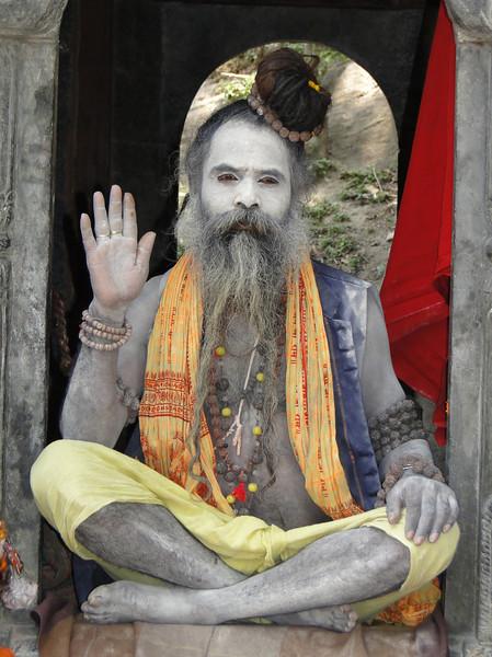 Hindu Sadhus, Holy Men, Pashupatinath, Kathmandu