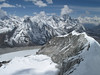 View at the arete of Island Peak 6160m