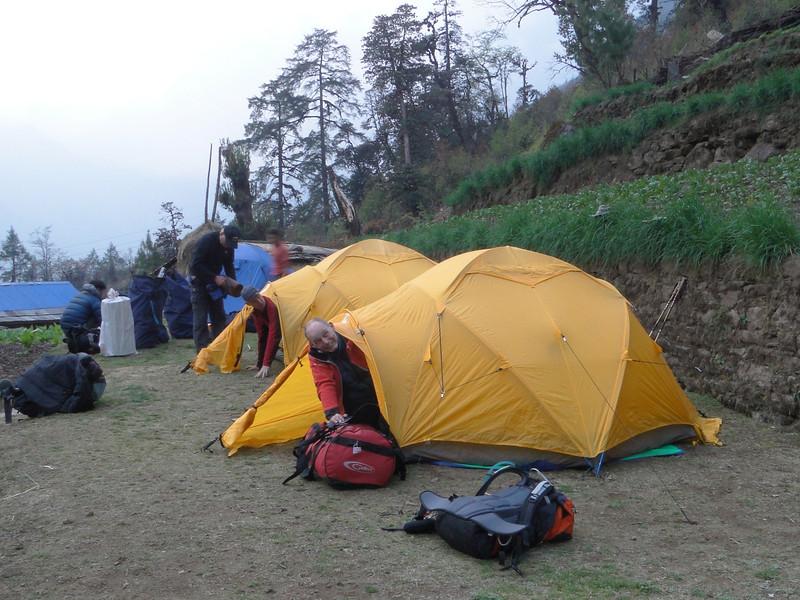 Camp Puyan 2775m