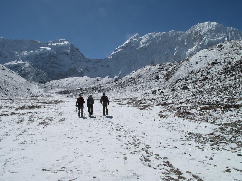 Island Peak Base Camp 5000m-Deboche 3650m