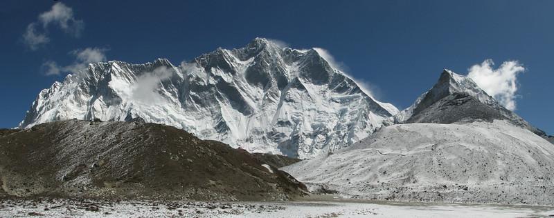Base camp Island Peak 5000m-Deboche 3650m