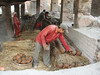 Loading the oven, Pottery Square, Baktapur