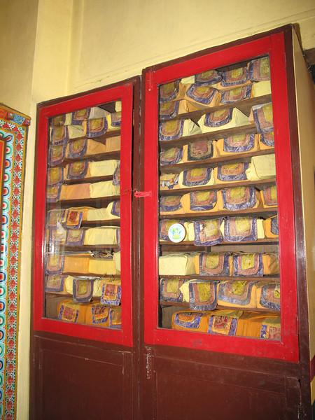 Prayer books, Swayambhunath temple, Monkey Temple, Kathmandu 1300m