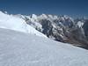 Descending route of the Mera Peak