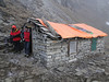 Lodge near the pass, Kothe 3700m-Zatwrala 3800m