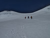 Descending of Mera Peak