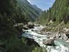 Imja Dranga river near Phunki 3250m, Namche Bazaar 3450m-Phakding 2650m