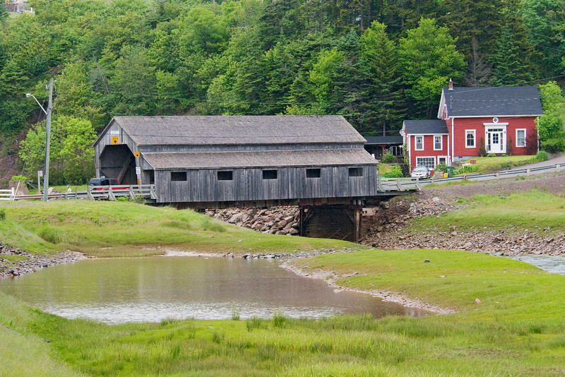 Another covered bridge in St. Martins, New Brunswick.