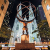 Atlas Statue In Front of Saint Patrick Cathedral