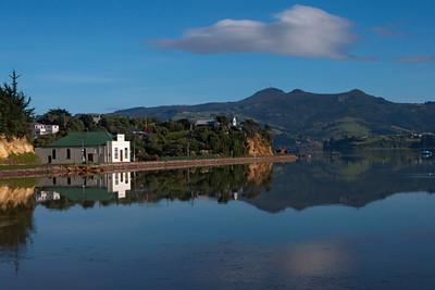 Scenic view from Portobello, NZ