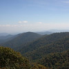 Bad Fork Valley overlook (elev 3350) on the Blue Ridge Parkway.