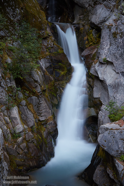 (9/10/2015, Christine Falls, Mt. Rainier NP, WA)<br /> EF24-105mm f/4L IS USM @ 50mm f/5.6 10s ISO500