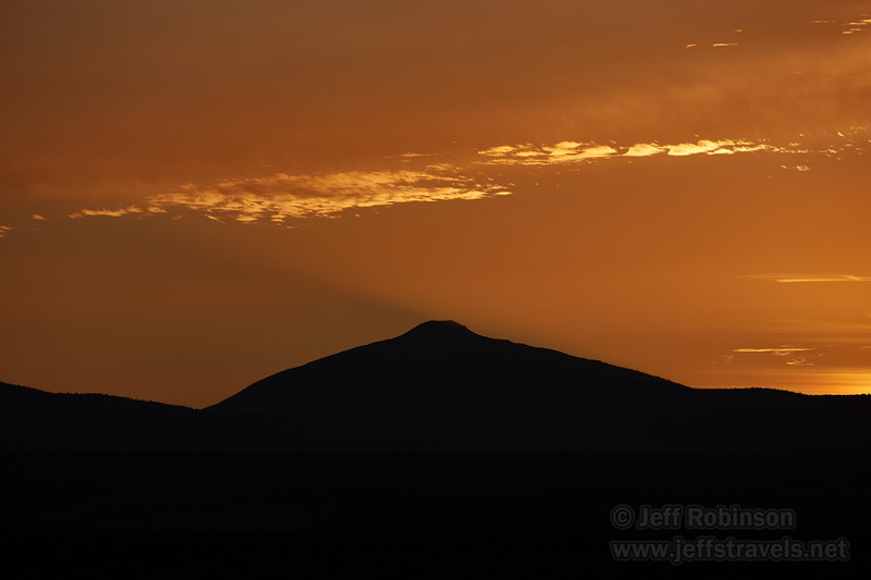 Westerly view of the sunset from near our campsite. (8/20/2017, 6152 Northwest Danube Dr., Madras eclipse trip)<br /> EF100-400mm f/4.5-5.6L IS II USM @ 300mm f8 1/500s ISO100