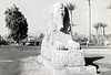 The alabaster sphinx in Memphis Eqypt.  I snapped this shot on an ACS school trip in 1967 with a Brownie.
