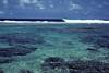 Ocean side surf and fringe reef.