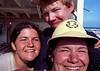 Miriam, Me and Ruth at the Mid Pacific Marine Lab Enewetak atoll.