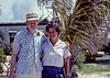 Me and Ruth at the mid-Pacific marine lab in Enewetak in 1981.
